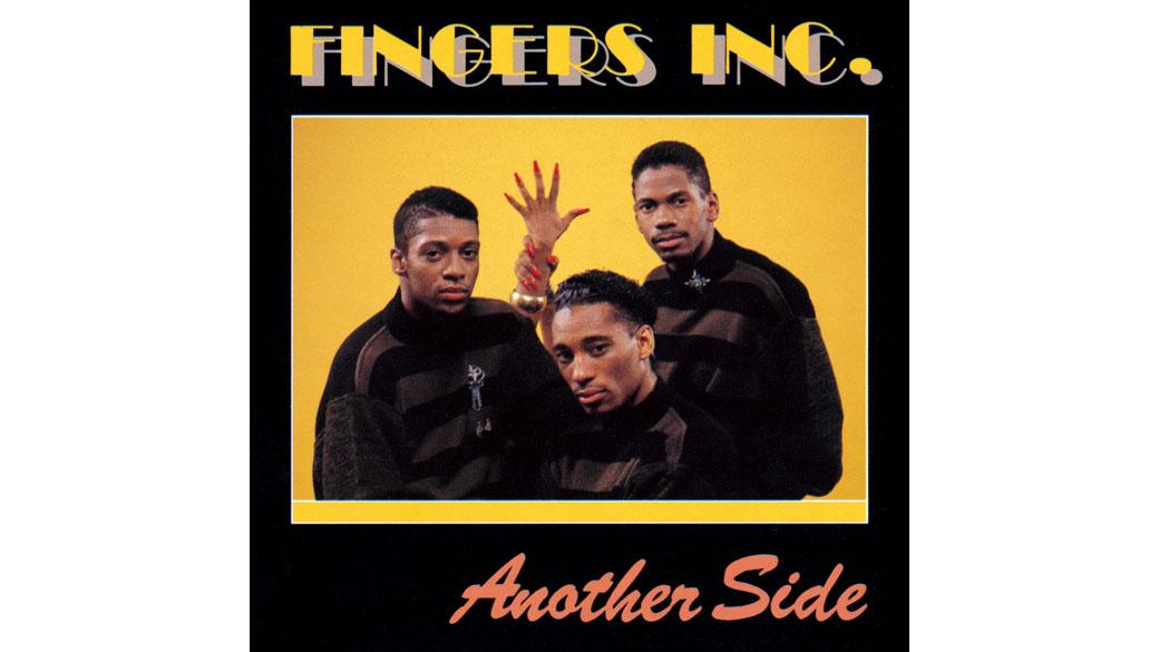 """Fingers Inc. - """"Another Side"""" (1988)  Ein untypisches Format der frühen House-Ära. Statt der üblichen Sammlung von 12-"""