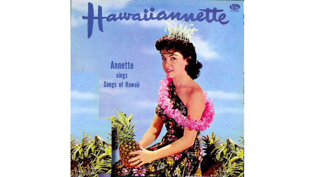 """Annette - """"Hawaiiannette"""" (1960)  Die amerikanische Conny Froboess: Annette Funicello war noch ein Kind, da wurde sie in"""
