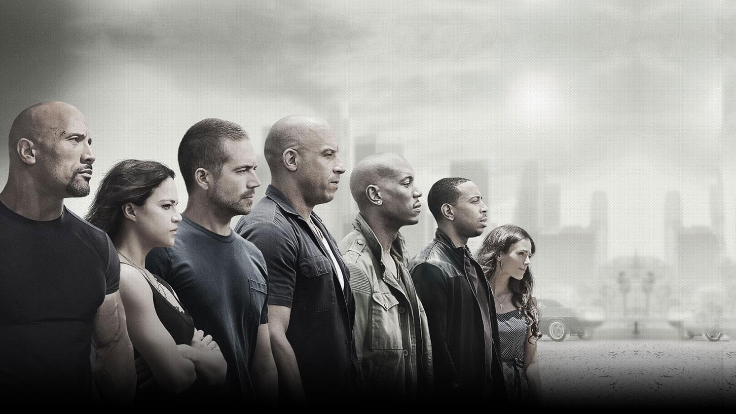 """""""Fast & Furious"""": Die Filmreihe geht weiter, wenn auch ohne Paul Walker (3.v.l.)"""