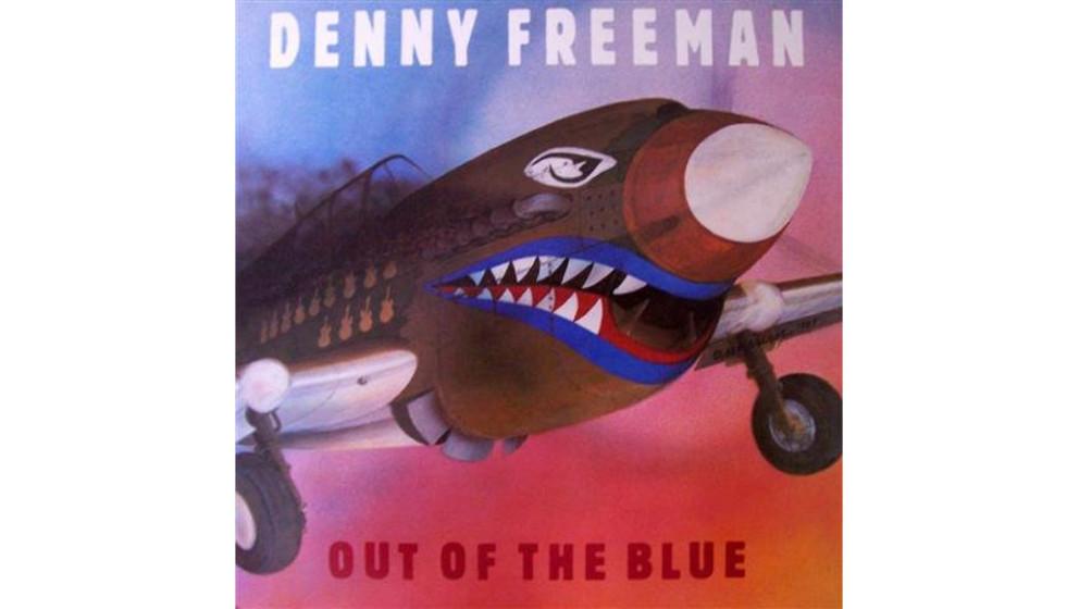"""Denny Freeman - """"Out Of The Blue"""" (1987)  Wie die bekannteren Vaughan-Brüder war Denny Freeman Anfang der Siebziger von"""