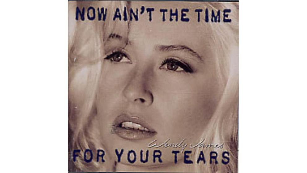 """Wendy James - """"Now Ain't The Time For Your Tears"""" (1993)  Für das Solodebüt der Transvision-Vamp-Sängerin schrieben"""