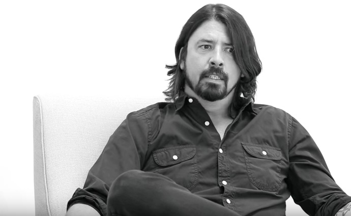 Dave Grohl im Interview mit Sam Jones