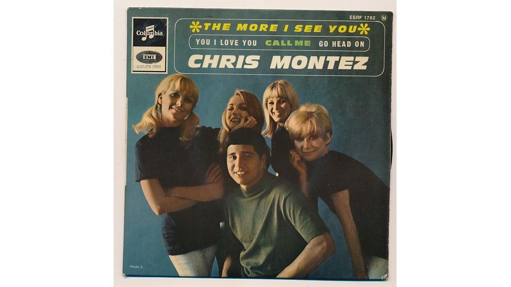 """Chris Montez - """"The More I See"""" (1966)  Seine Eltern waren Mexikaner, Chris Montez sah aus wie ein kleiner dicker Junge u"""