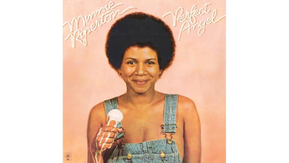 """Minnie Riperton - """"Perfect Angel"""" (1974)  Groteskes Cover, schöne Platte. Die Sängerin mit der extrem hohen Stimme, die"""