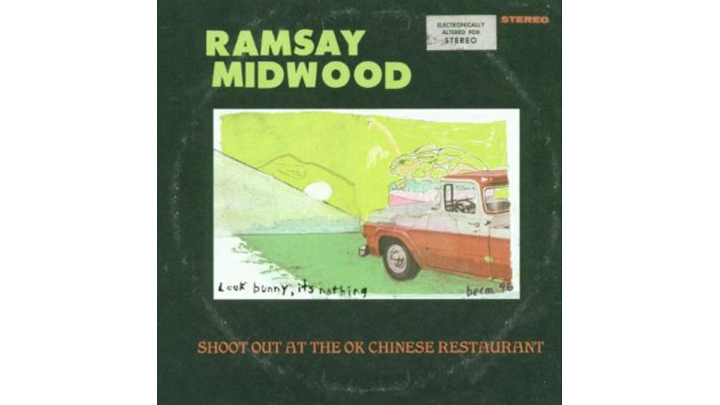 "Ramsay Midwood - ""Shoot Out At The OK Chinese Restaurant"" (2000)  Drei Platten hat der schratige Baseballkappenträger Ra"