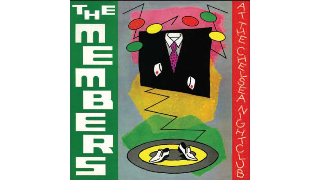 """The Members - """"At The Chelsea Nightclub"""" (1979)  Von britischen Pop-Historikern sträflich übersehen trieben sich The Me"""