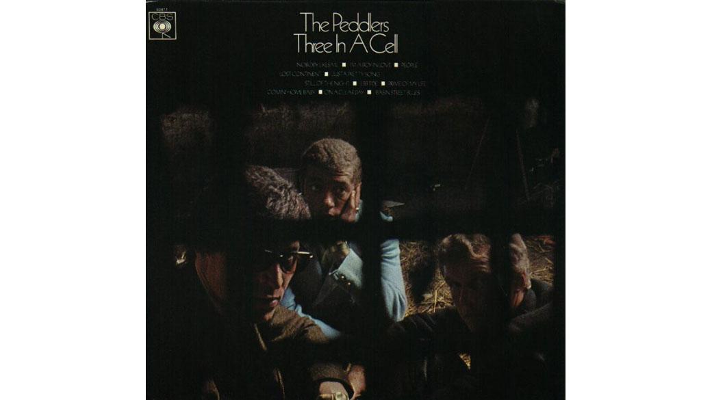 """The Peddlers - """"Three In A Cell"""" (1968)  Das 1964 einem Londoner Jazzkeller entstiegene Trio trug schwarze Anzüge und wa"""