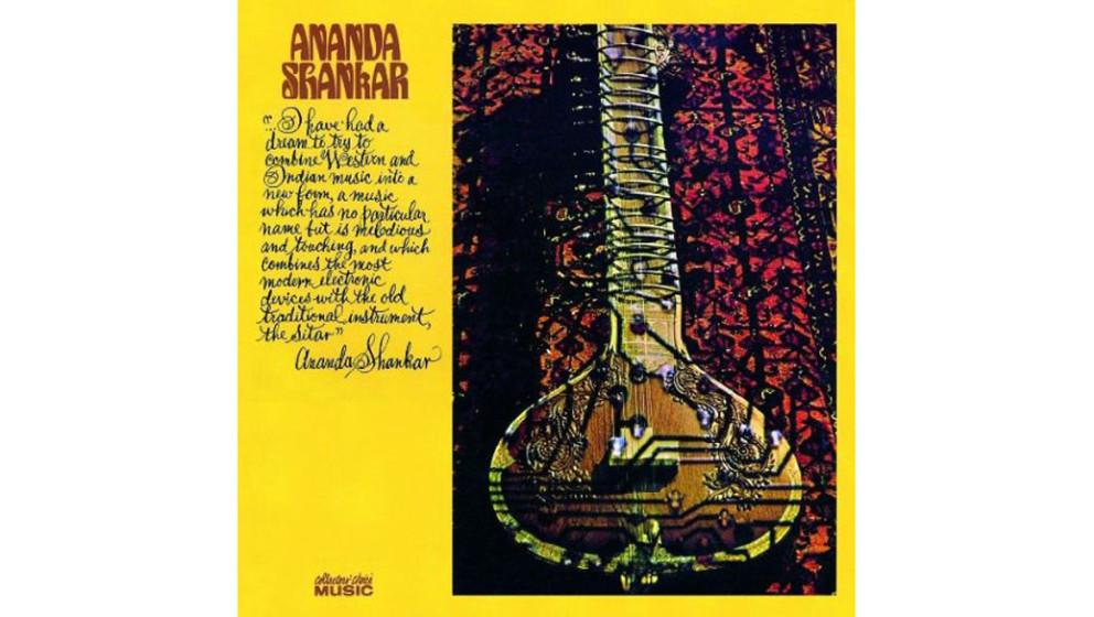 """Ananda Shankar - """"Ananda Shankar"""" (1970)  Ravi Shankar war der Mann, der George Harrison beibrachte, wie man Sitar spielt"""