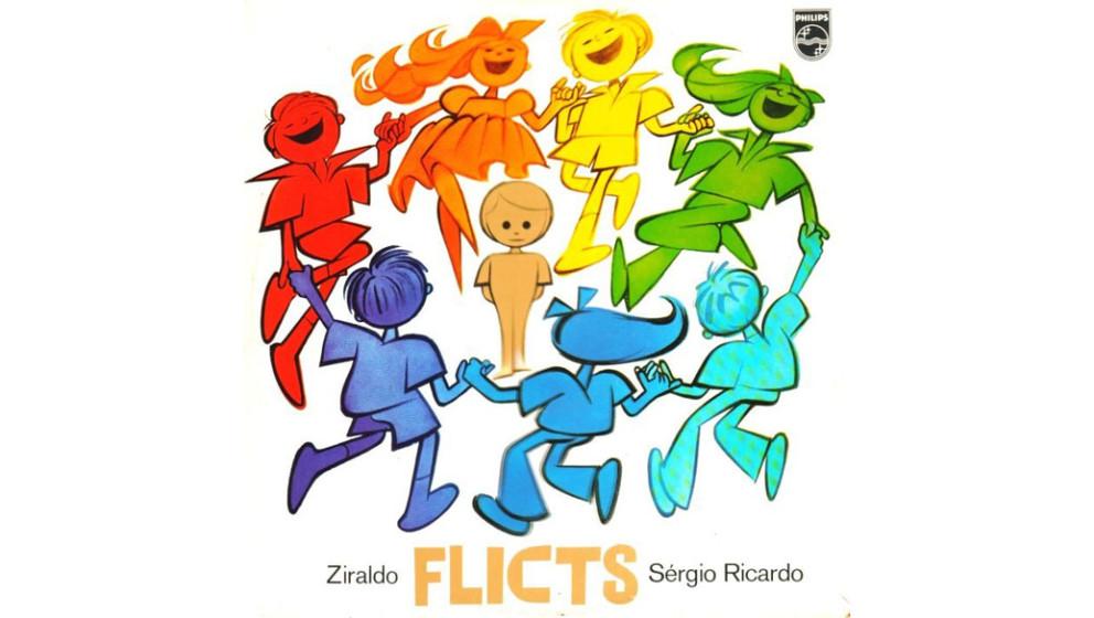 "Ziraldo & Sérgio Ricardo -  ""Flicts"" (1980)  1969 veröffentlichte der brasilianische Illustrator Ziraldo das Avantgard"