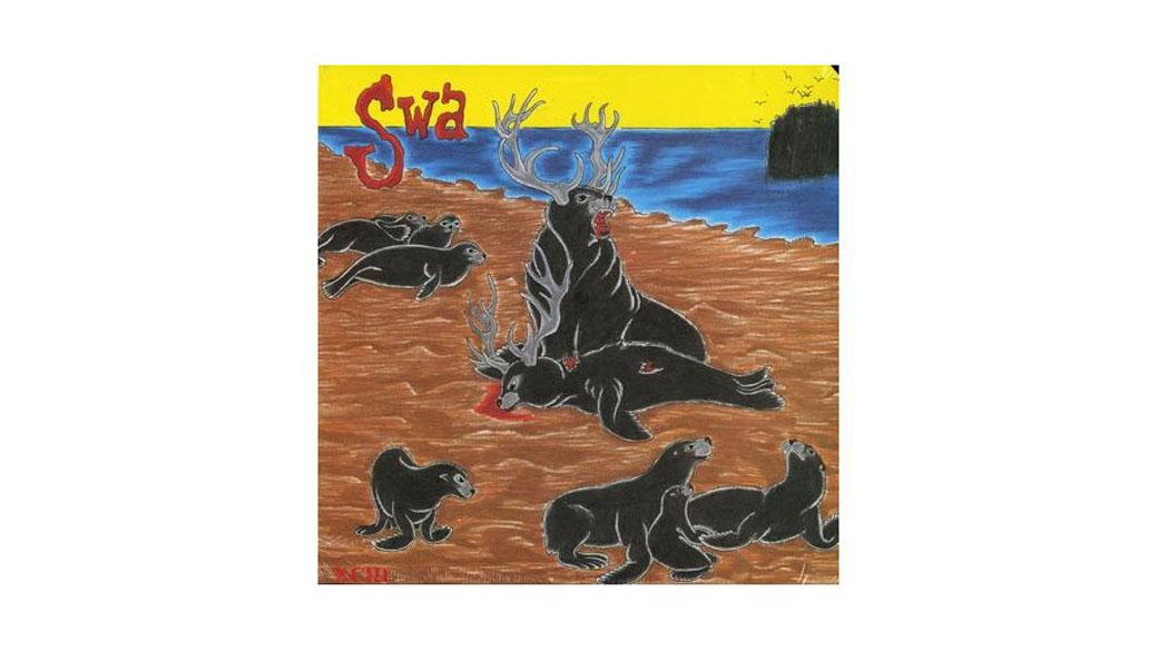 """SWA - """"XCIII"""" (1987)  Black-Flag-Bassist und SST-Mitbegründer Chuck Dukowski betrieb diese nicht ganz grundlos wenig bel"""