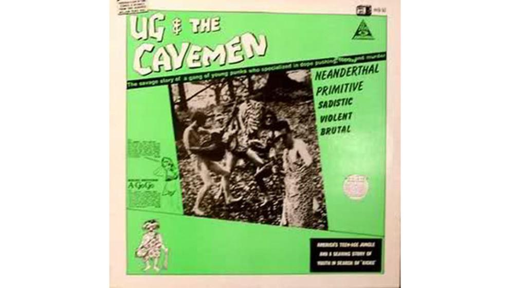 """Ug & The Cavemen - """"Ug & The Cavemen"""" (1987)  Schmuddelige, verwahrloste UK-Twens, die im Dschungel hausen, auf Instrumen"""