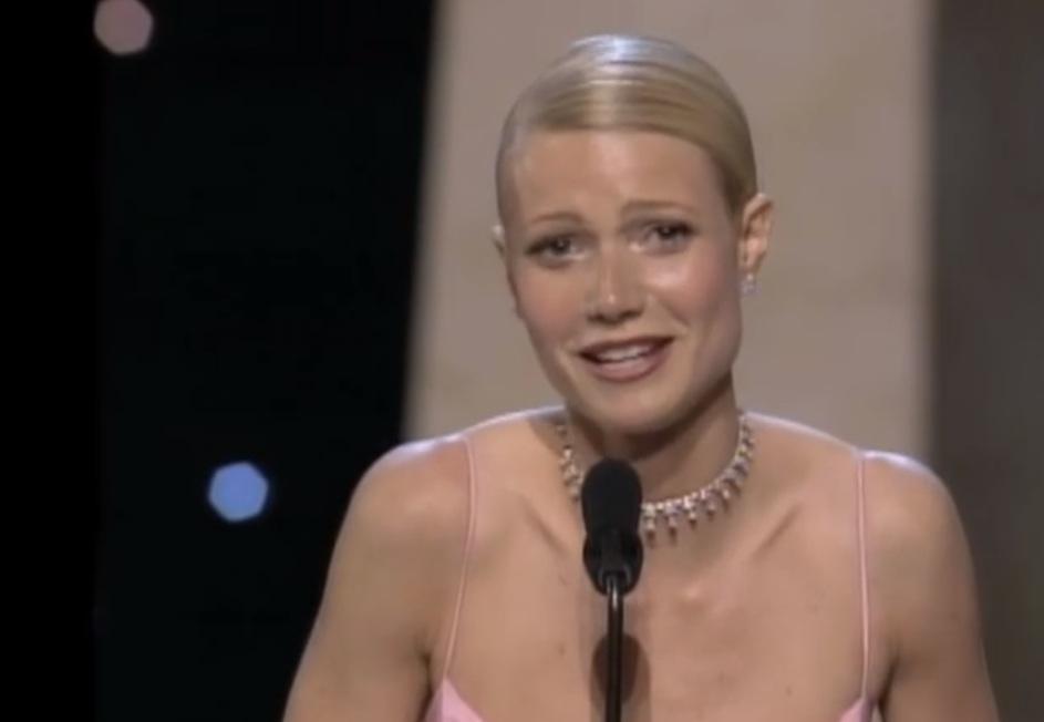 Gwyneth Paltrow bei ihrer geschluchzten Dankesrede