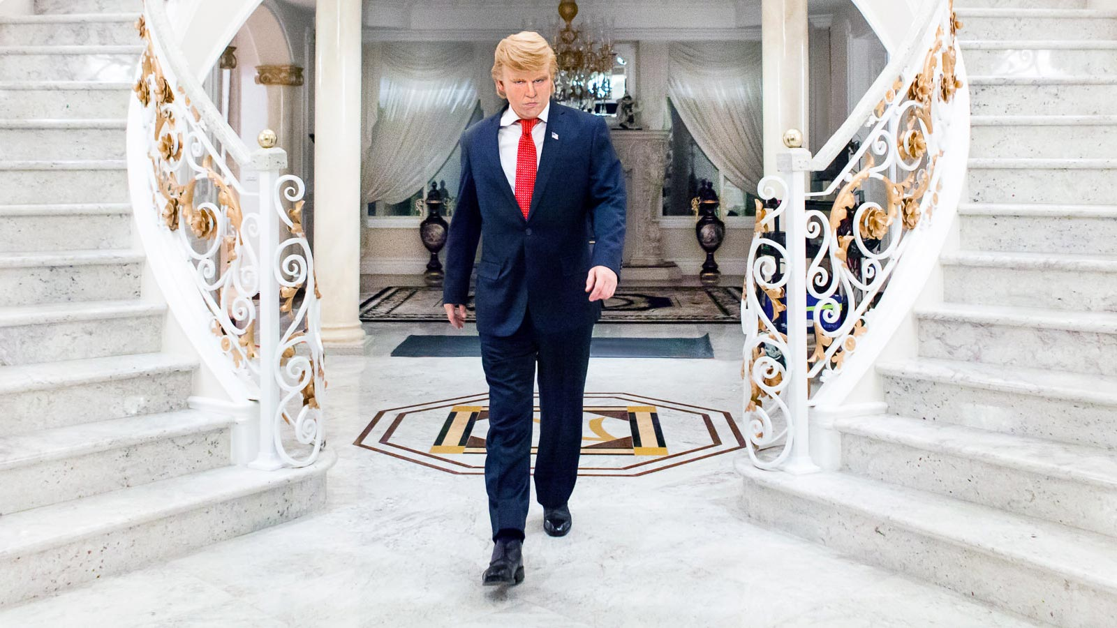 Johnny Depp ist Donald Trump