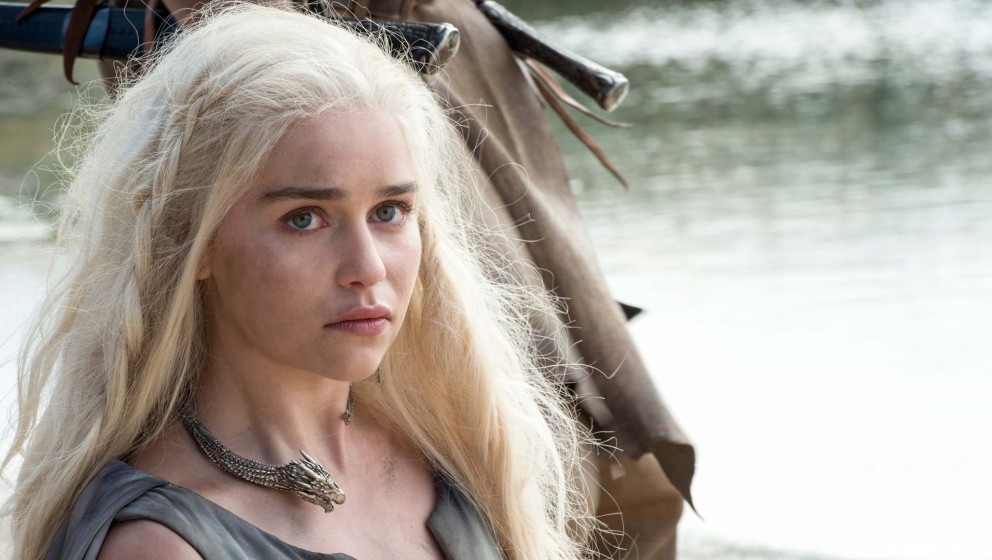 "Emilia Clarke in der sechsten Staffel ""Game Of Thrones"""