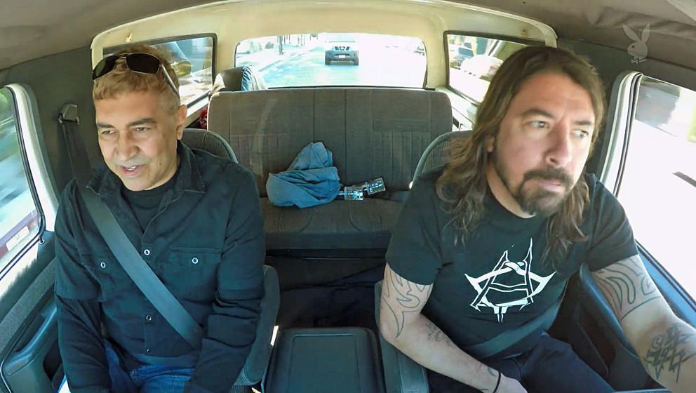 Dave Grohl und Pat Smear unterwegs auf einer Spritztour
