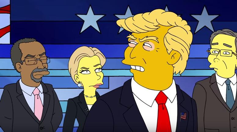 Die Simpsons ziehen die US-Politik durch den Kakao