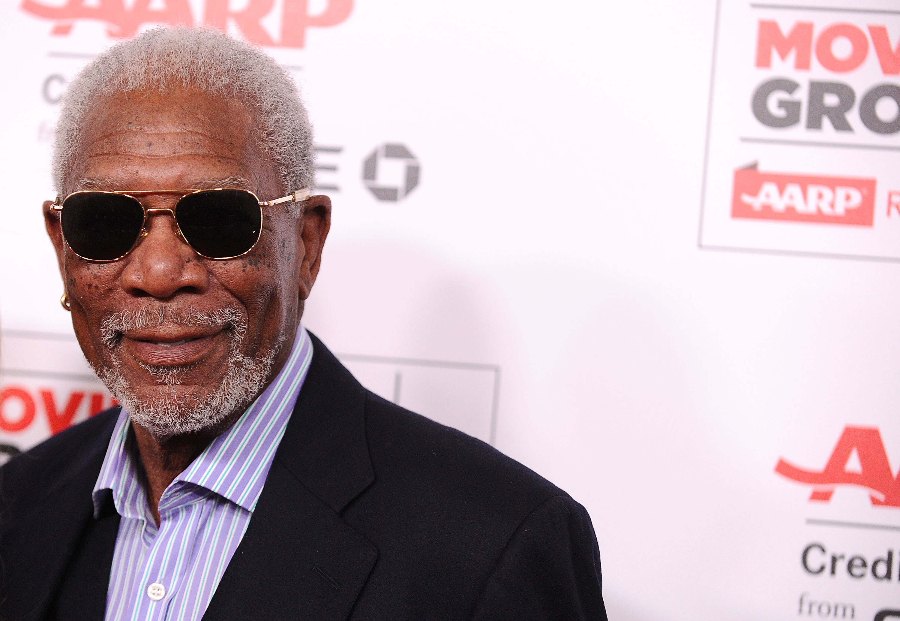 BEVERLY HILLS, CA - FEBRUARY 08:  Actor Morgan Freeman attends the 15th annual Movies For Grownups Awards at the Beverly Wils