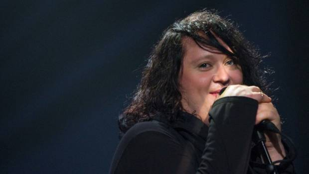 Anohni bei einem Live-Auftritt im Jahr 2009