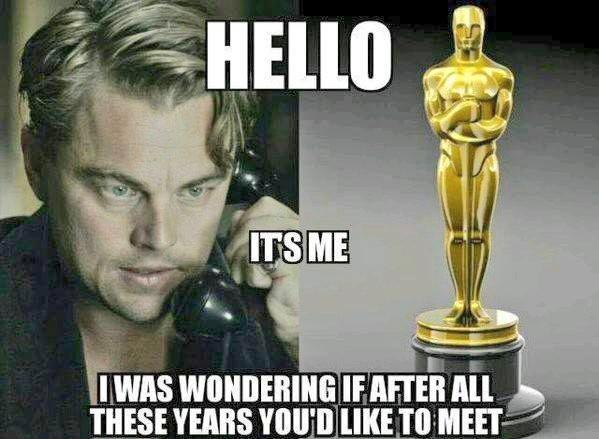 Leonardo DiCaprio ist sicher froh, wenn die Parodien bald verschwinden