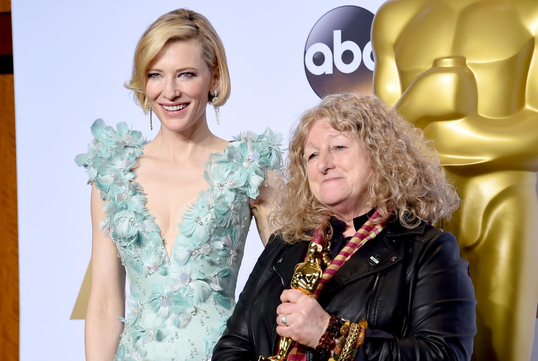 Mad-Max-Kostümdesignerin Jenny Beaven mit Laudatorin Cate Blanchett