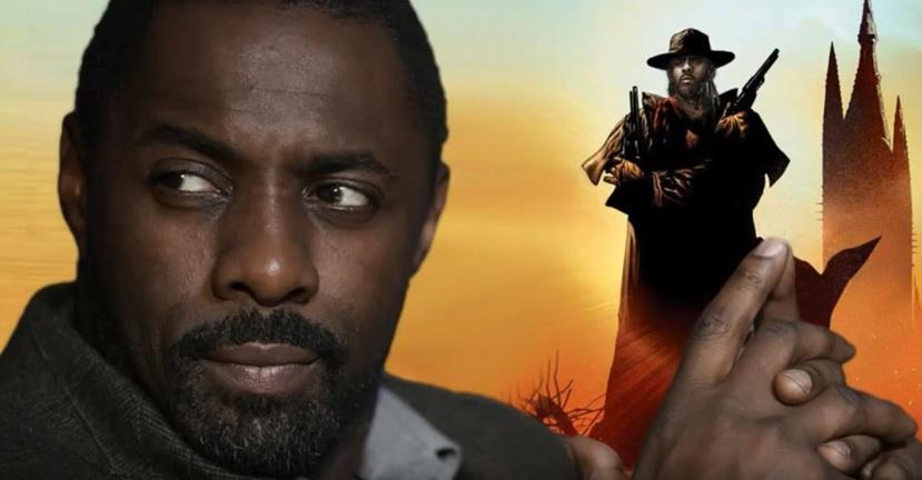 Idris Elba spielt Roland, den Revolvermann