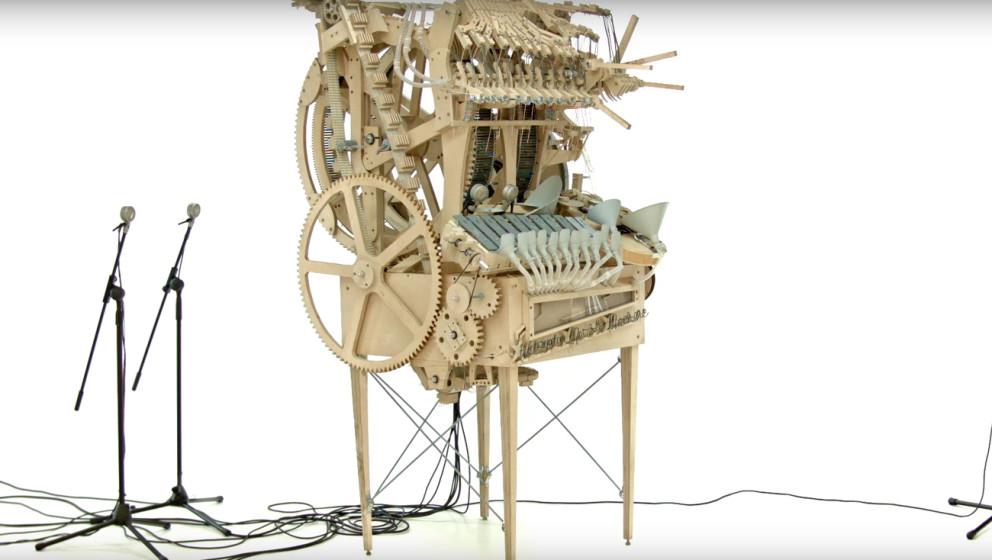 Musiker Martin Molin baute die Maschine eigenhändig.