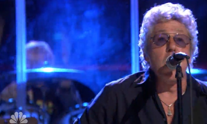 "Roger Daltrey singt ""Whoe Are You?' bei Jimmy Fallon"