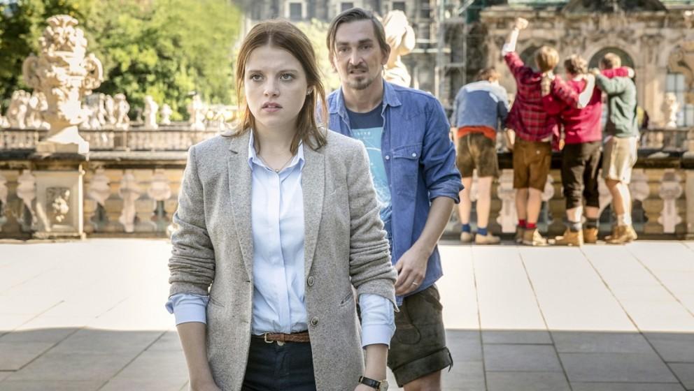 """Szene aus """"Auf einen Schlag"""", der """"Tatort""""-Episode aus Dresden"""
