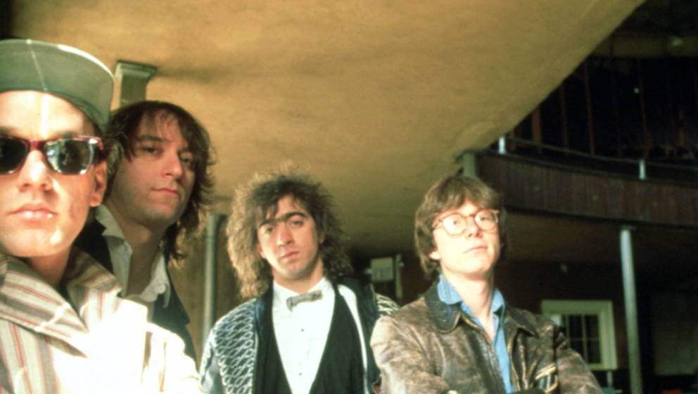 R.E.M.: Michael Stipe, Peter Buck, Billy Berry und Mike Mills