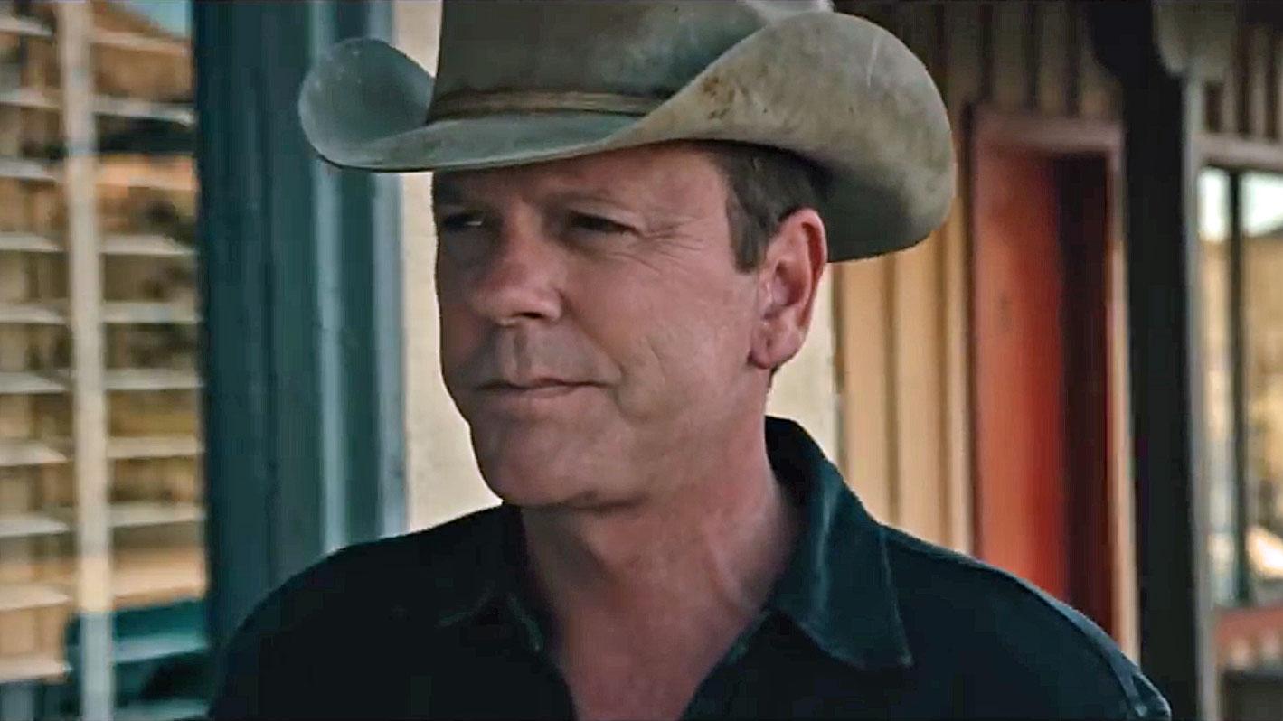 Kiefer Sutherland mimt den einsamen Cowboy