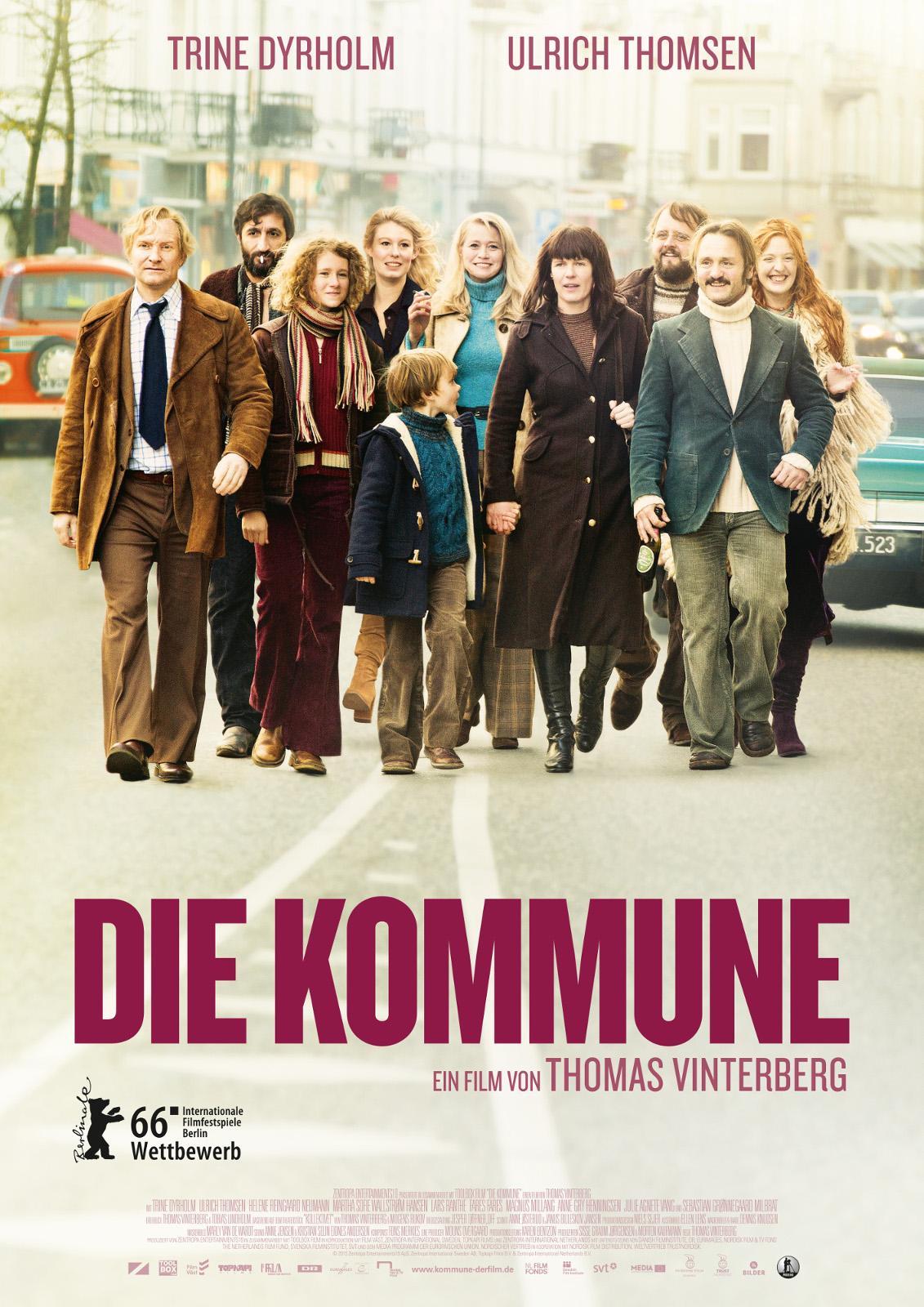 """""""Die Kommune"""" läuft ab dem 21.04.16 im deutschen Kino."""