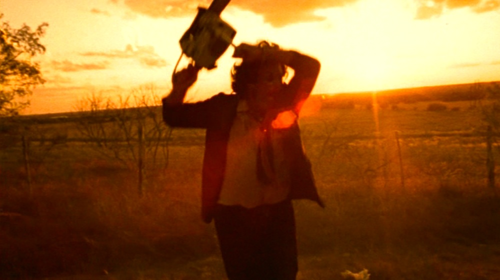 "Szene aus ""The Texas Chain Saw Massacre"""