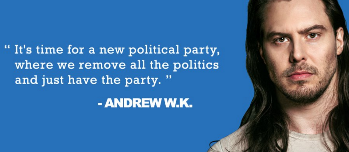 Andrew W.K. We Want Fun