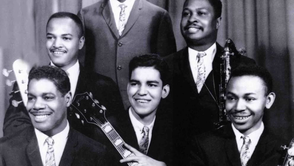 UNSPECIFIED - JANUARY 01:  (AUSTRALIA OUT) Photo of Hank CROSBY and Larry VEEDER and Joe HUNTER and James JAMERSON and Mike T