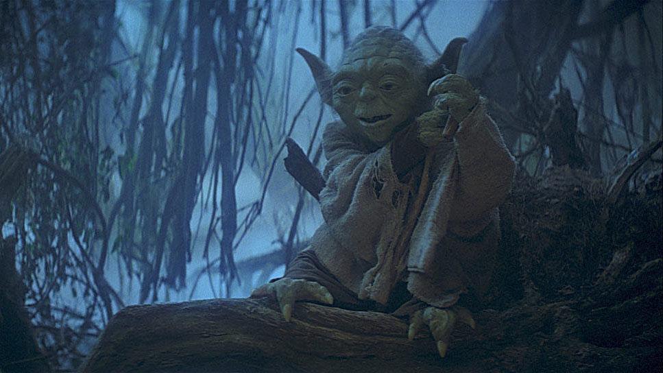 """Yoda in """"Star Wars: Episode V - Das Imperium schlägt zurück"""""""