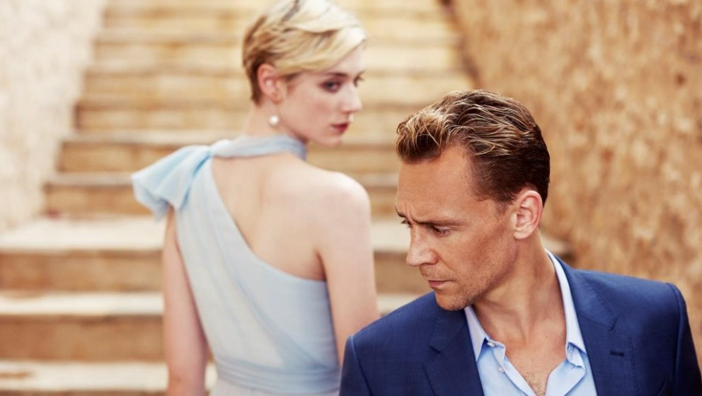 Tom Hiddleston as Jonathan Pine and Elizabeth Debicki as Jed Marshall - The Night Manager _ Season 1, Gallery - Photo Credit: