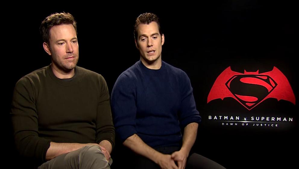 """Ben Affleck ist ob der negativen Kritiken zu """"Batman v Superman"""" sichtlich traurig."""