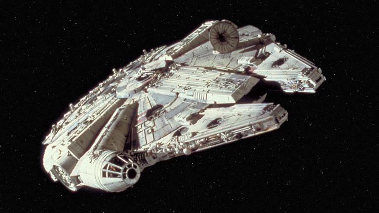 Hat der Millennium Falke von Han Solo die Internationale Raumstation (ISS) besucht?