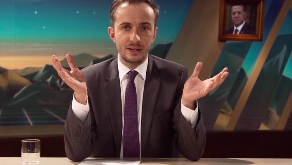 """Jan Böhmermann in seiner Sendung """"Neo Magazin Royale"""""""