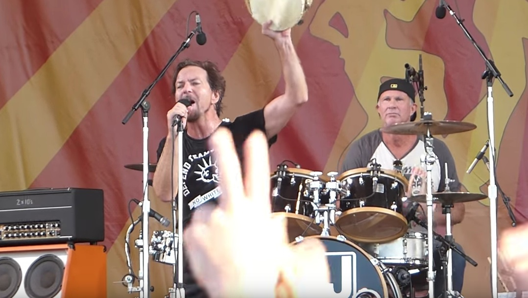 Eddie Vedder und Chad Smith