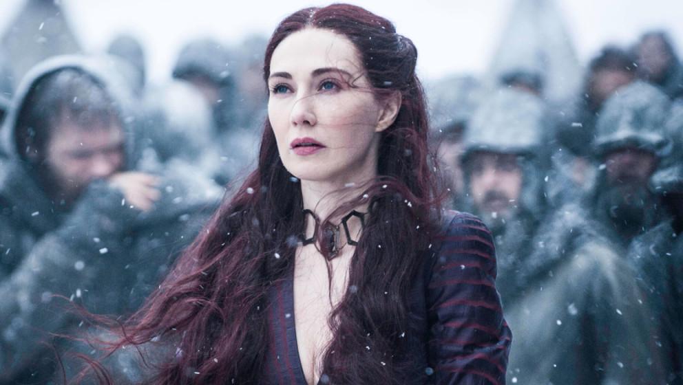 """Lady Melisandre spielt eine wichtige Rolle in der ersten Folge der sechsten Staffel von """"Game Of Thrones"""""""