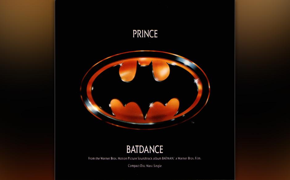41. 'Batdance' (Batman, 1989).   Ausgerechnet seine erste, millionenschwere Auftragsarbeit für einen Blockbuster bietet aufm