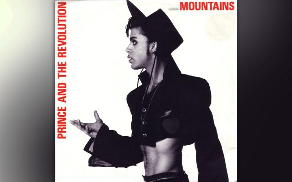 85. 'Mountains' (Parade, 1986).   Die Nachfolge-Single von 'Kiss' hatte wenig Chancen in den Charts, immerhin führt das Stü