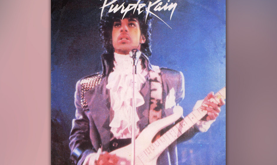 91. 'God' (B-Seite 'Purple Rain', 1984).  m Handel sind zwei Versionen: die nur mit Keyboard und allerlei Sternenstaub-Synthi