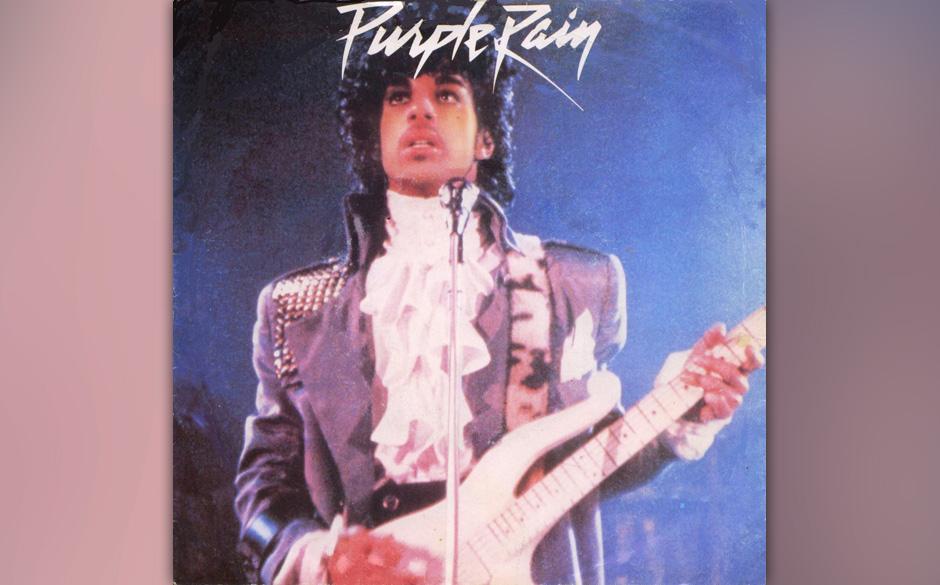 82. 'God' (B-Seite 'Purple Rain', 1984).  m Handel sind zwei Versionen: die nur mit Keyboard und allerlei Sternenstaub-Synthi