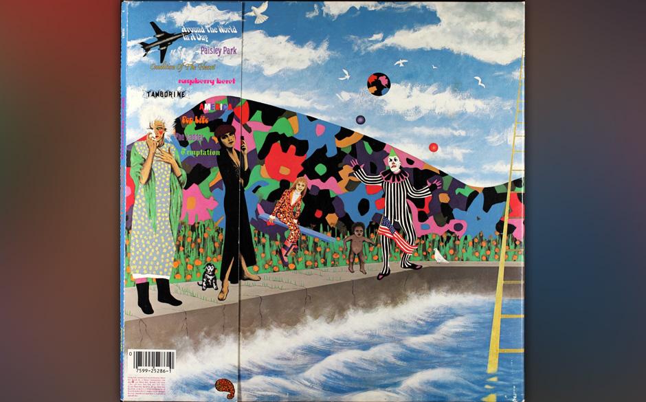 35. 'Around The World In A Day' (Around The World In A Day, 1985).   Beide Versionen haben ihren Reiz, die veröffentlichte,