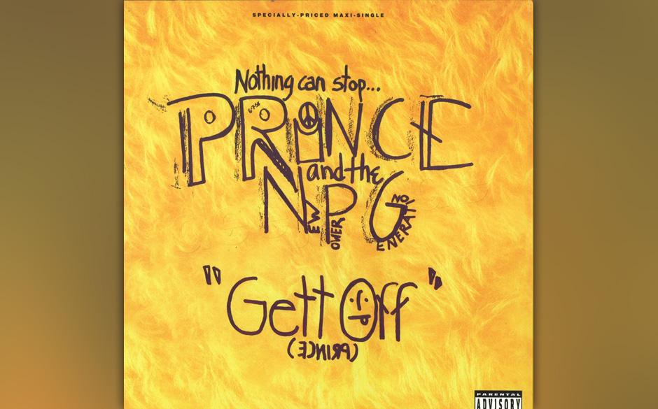 39. 'Gett Off' (Diamonds and Pearls, 1991).   1991 befand sich Prince schon halb auf dem absteigenden Ast. Er holte sich desh