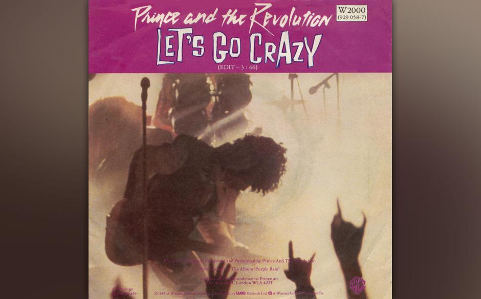 """08. 'Let's Go Crazy' (Purple Rain, 1984).    Das pastorale Orgel-Intro """"Let's Go Crazy"""", eine vom-Himmel-in-die-Hölle-"""
