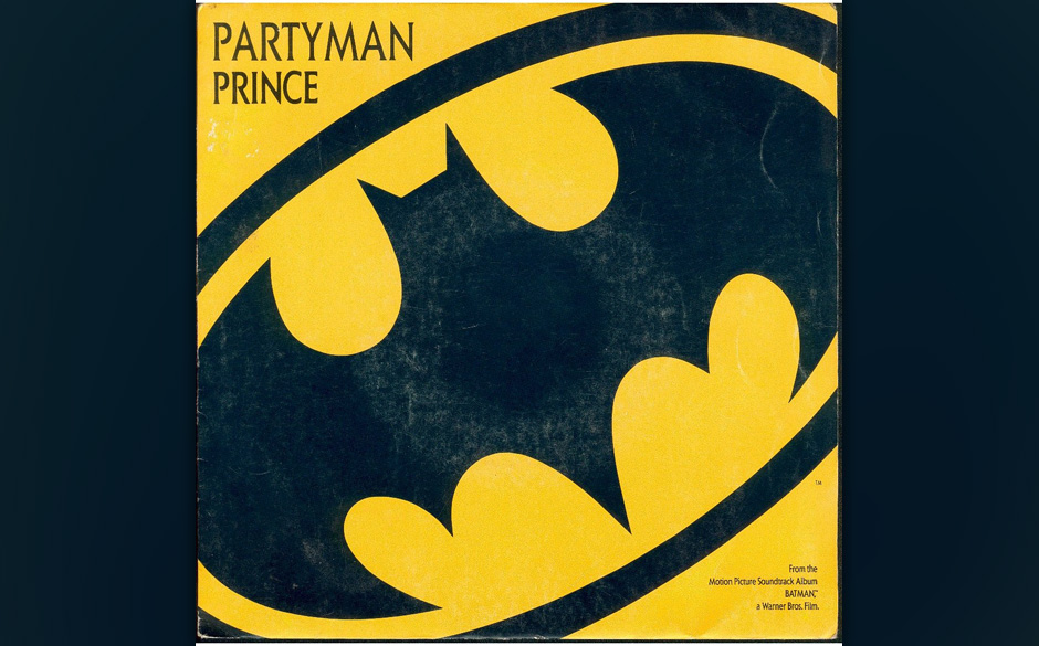 84. 'Partyman' (Batman, 1989).   Vorgänger 'Batdance' schafft es in den US-Single-Charts auf die Eins, das nicht weniger auf
