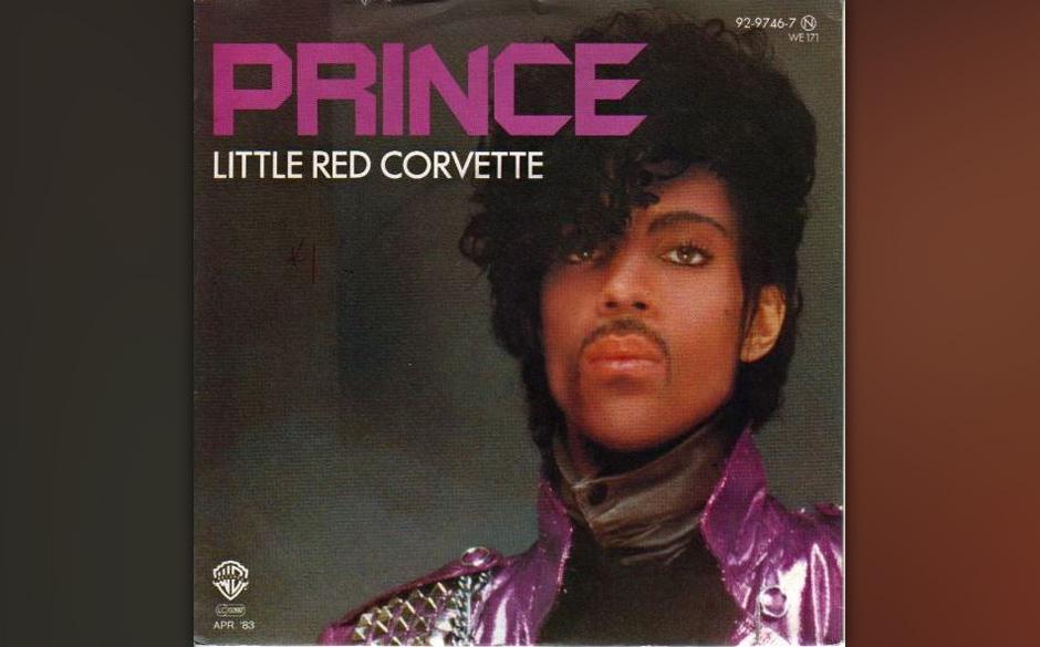 28. 'Little Red Corvette' (1999, 1982).   Prince' erster Top-Ten-Hit in den USA, es geht darum, beim Date auf dem Autorücksi